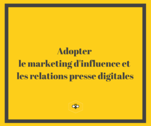 Adopter marketing influence et rp 2.0