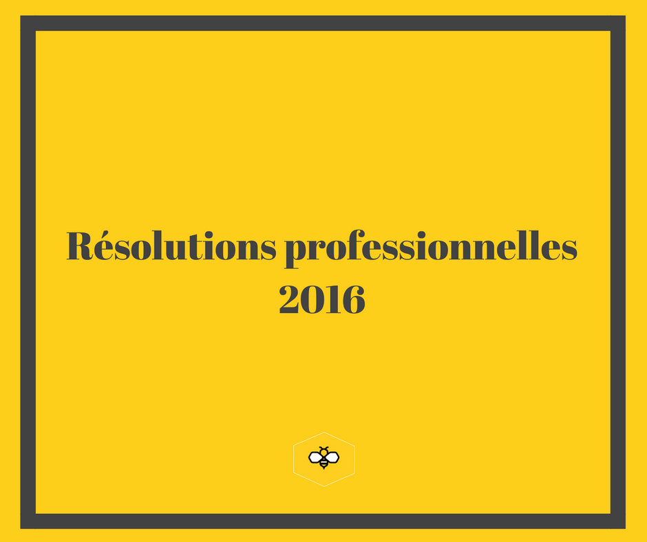 résolutions pro 2016