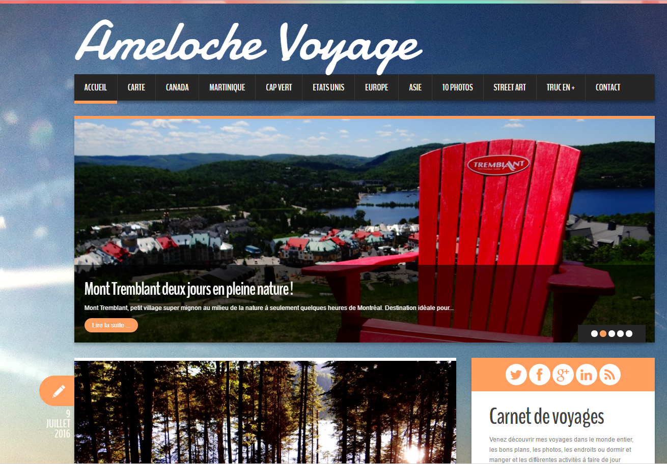 Interview blogueur : Ameloche Voyage
