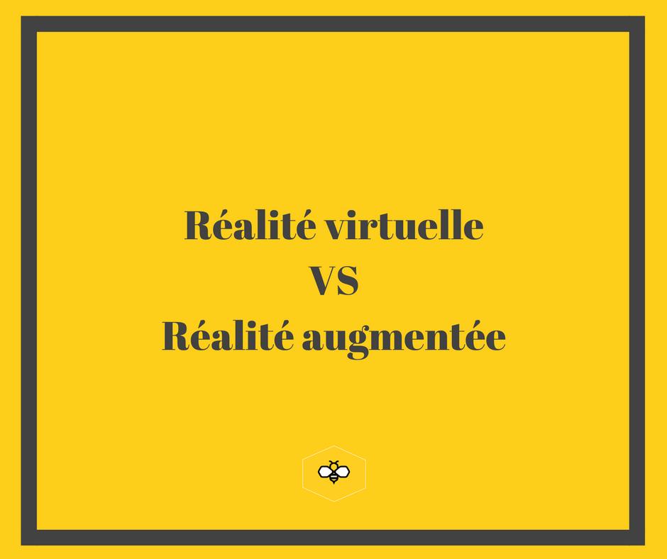 Réalité virtuelle & réalité augmentée