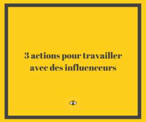 actions influenceurs